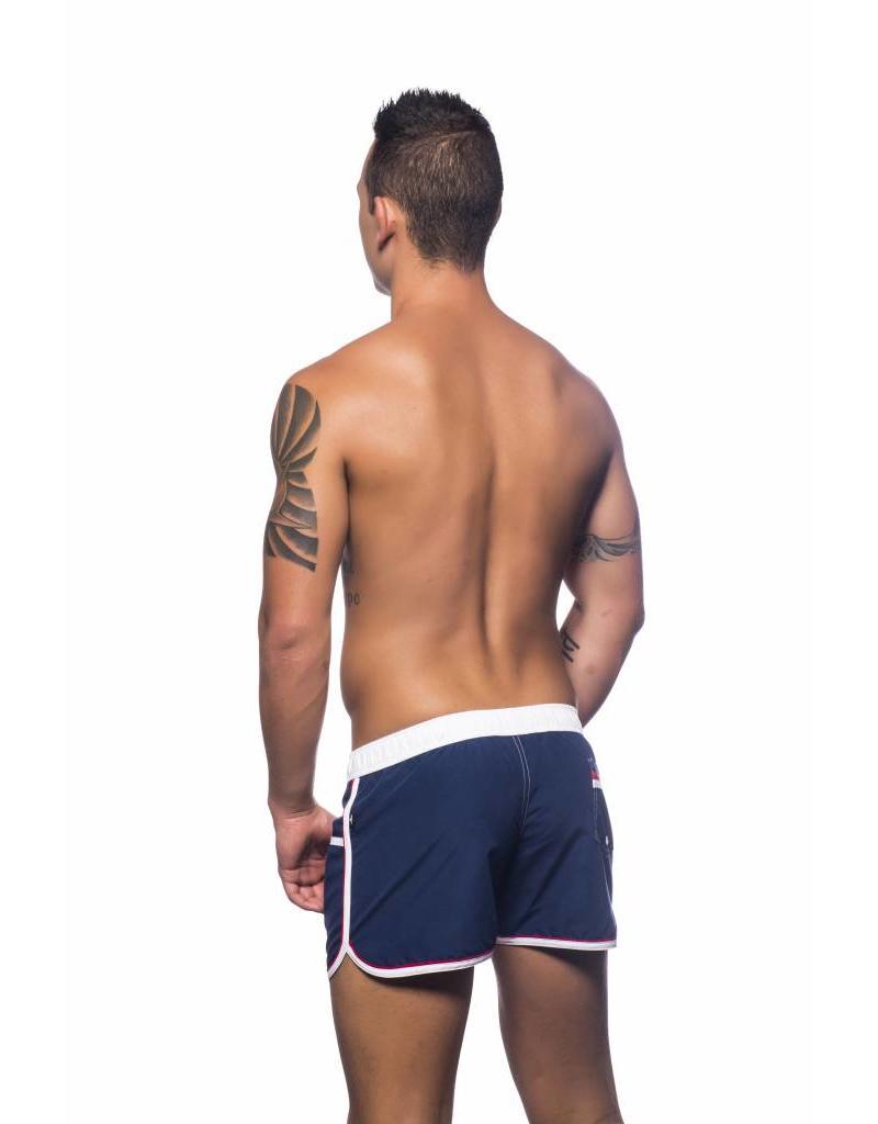 Andrew Christian Andrew Christian Crest Swim Shorts Navy