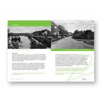 Eigen uitgave VVV Zuid-Limburg Wandel- en fietsroute Brunssum 'Mijn Geschiedenis'