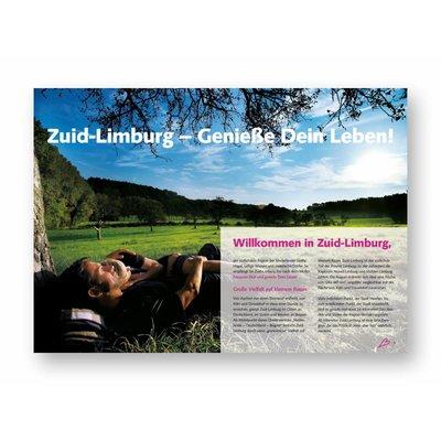 Eigen uitgave VVV Zuid-Limburg Brochure 'Willkommen in Zuid-Limburg' (Duitstalig)