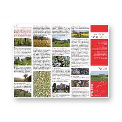 Eigen uitgave VVV Zuid-Limburg Wandelroute 'Ommetje Gronsveld' (D'n Driej)