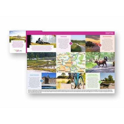 Eigen uitgave VVV Zuid-Limburg Fietsroute 'Groenroute Parkstad Limburg'