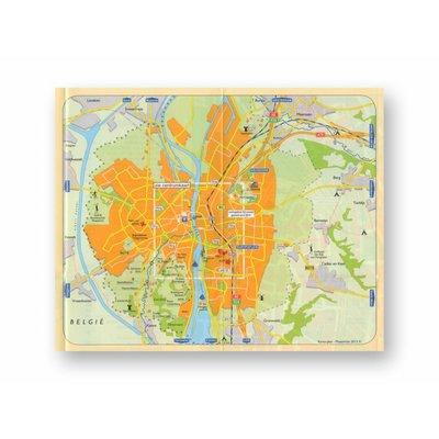 Stadsplattegrond Maastricht