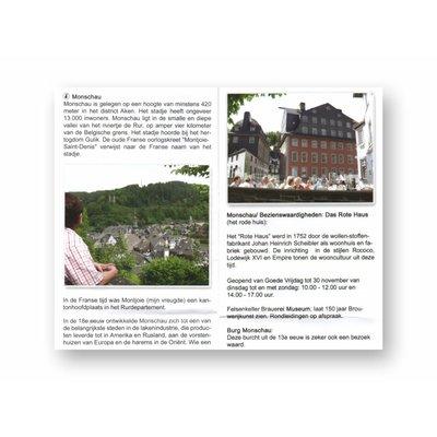 Eigen uitgave VVV Zuid-Limburg Autoroute 'Eifeldorpjesroute'