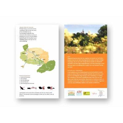 Wandelkaart 'Dwalen langs de Geul'