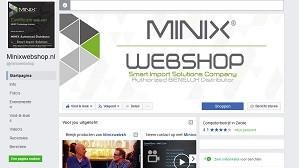 MINIX Facebook pagina