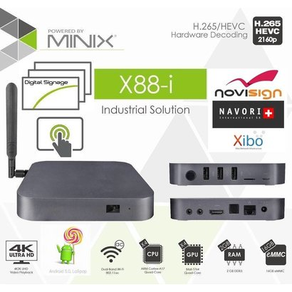 MINIX X88-i Android 5 Lollipop Industrial / Business Edition