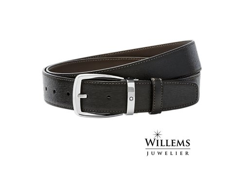 Montblanc Leather Belt Trapeze 114417