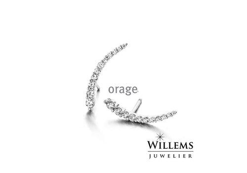 Orage oorbellen O/3811