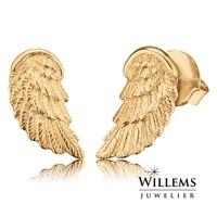 oorbellen vleugel goud ERE-WING-STG