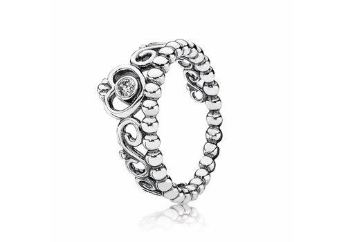 Pandora Silver ring with cubic zirconia 190880CZ
