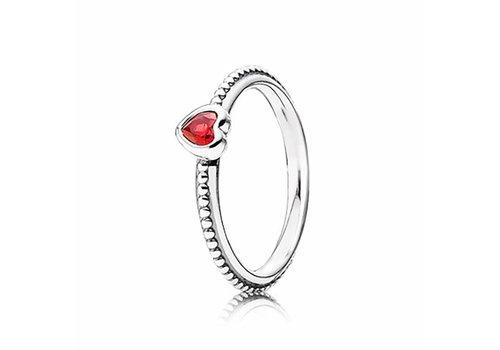 Pandora Heart silver ring 190896SGR