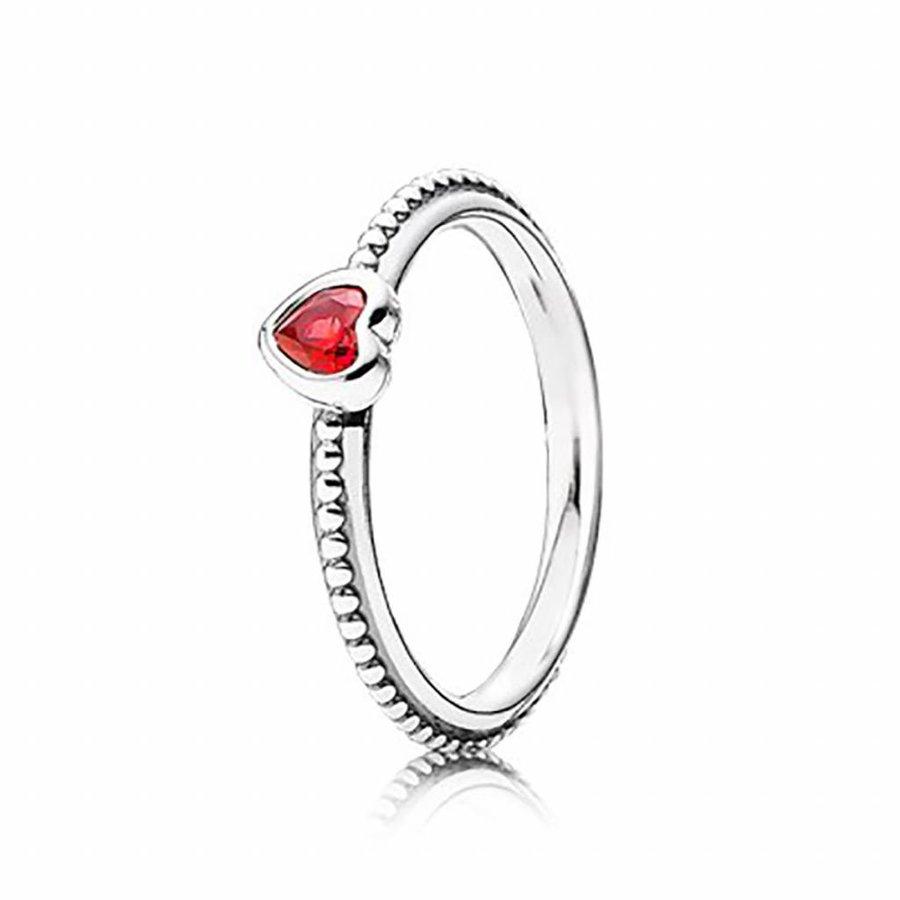 Heart silver ring 190896SGR