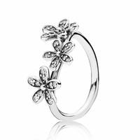 Daisy silver ring 190933CZ
