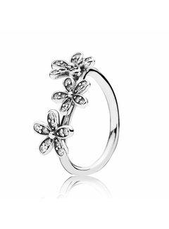 Pandora Daisy silver ring 190933CZ