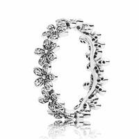 Daisy silver ring 190934CZ