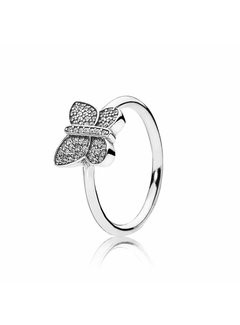 Pandora Butterfly silver ring 190938CZ