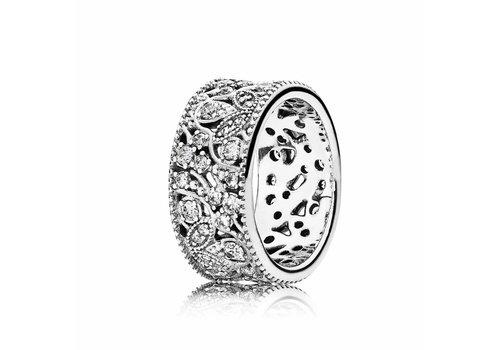 Pandora Leaf ring 190965CZ