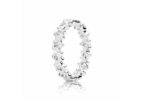 Pandora Star silver ring 190974CZ