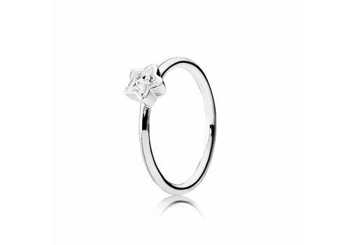 Pandora Star silver ring 190977CZ