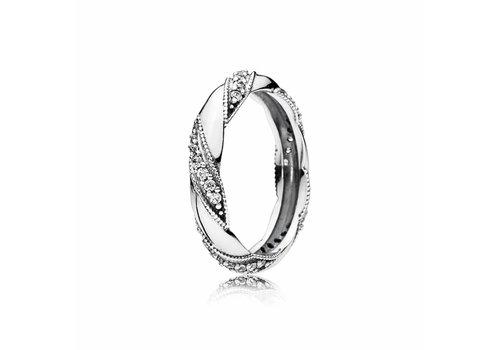Pandora Ribbon ring 190981CZ