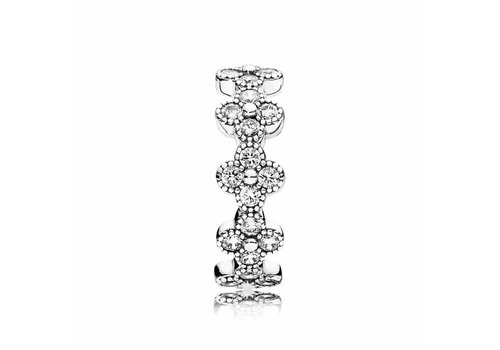 Pandora Floral silver ring 191000CZ