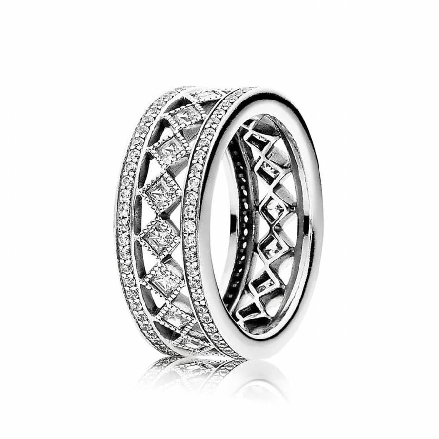 Silver ring 191007CZ