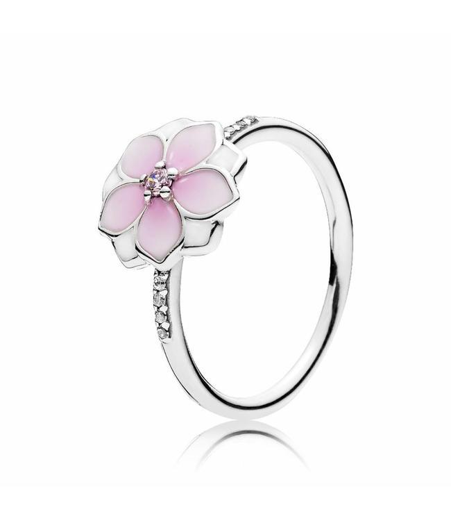 Pandora ring Magnolia Bloom 191026PCZ