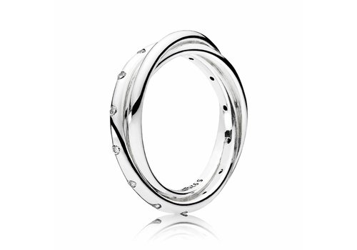 Pandora ring Forever Joined 191034CZ