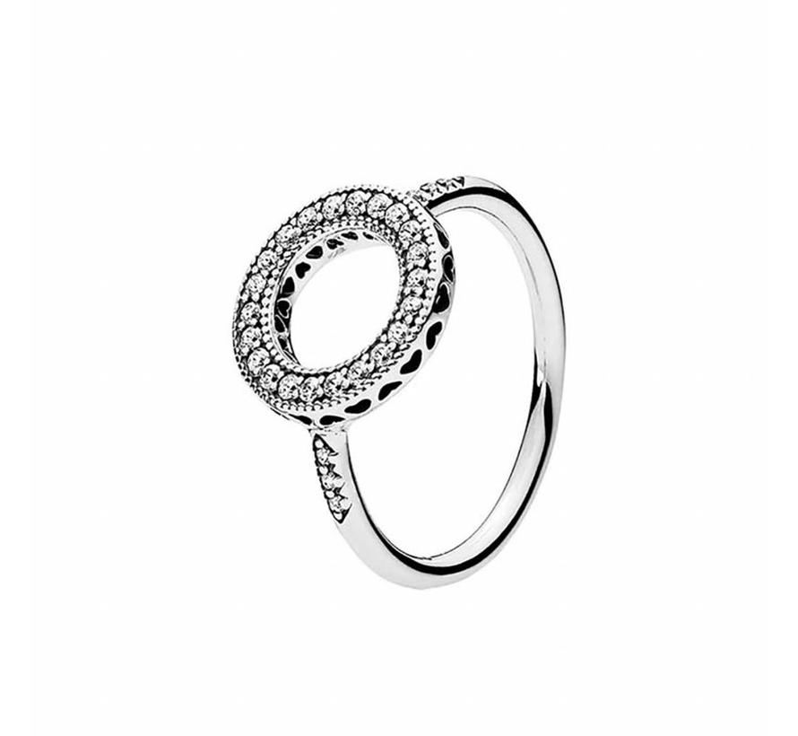 ring Hearts of Pandora Halo 191039CZ