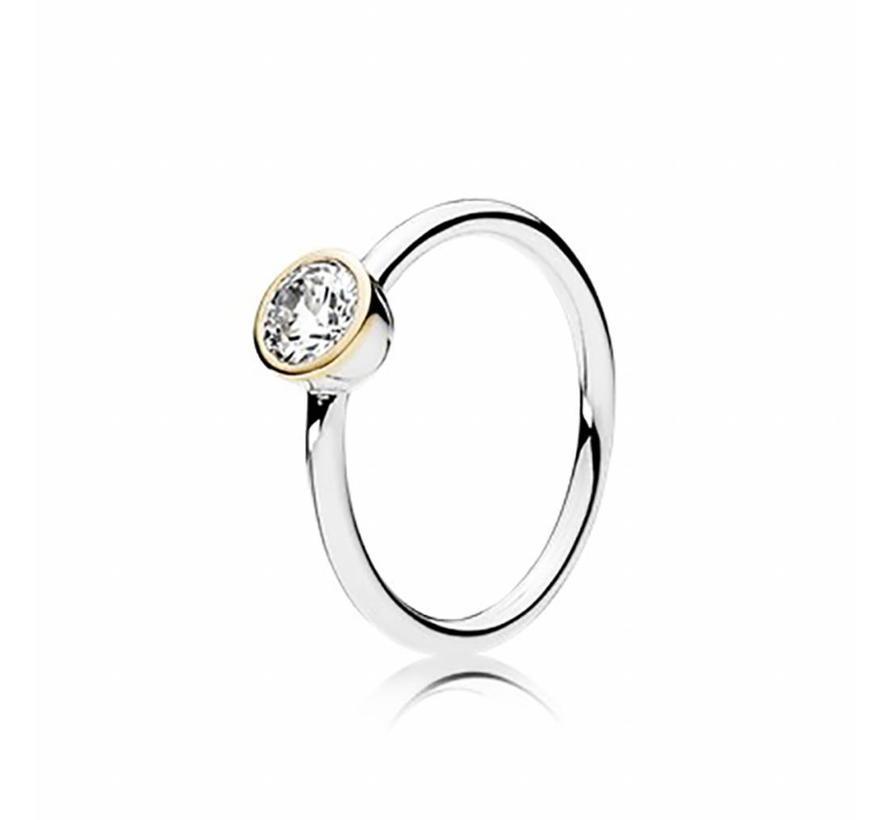 ring Petite Circle 191043CZ