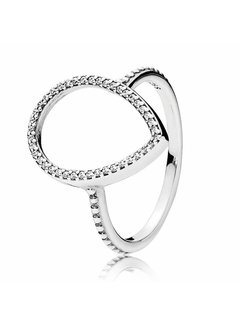 Pandora ring with cubic zirconia 196253CZ