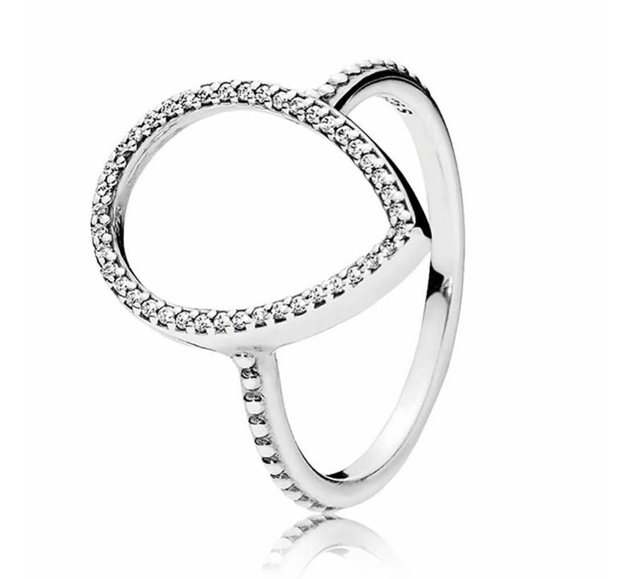 ring with cubic zirconia 196253CZ
