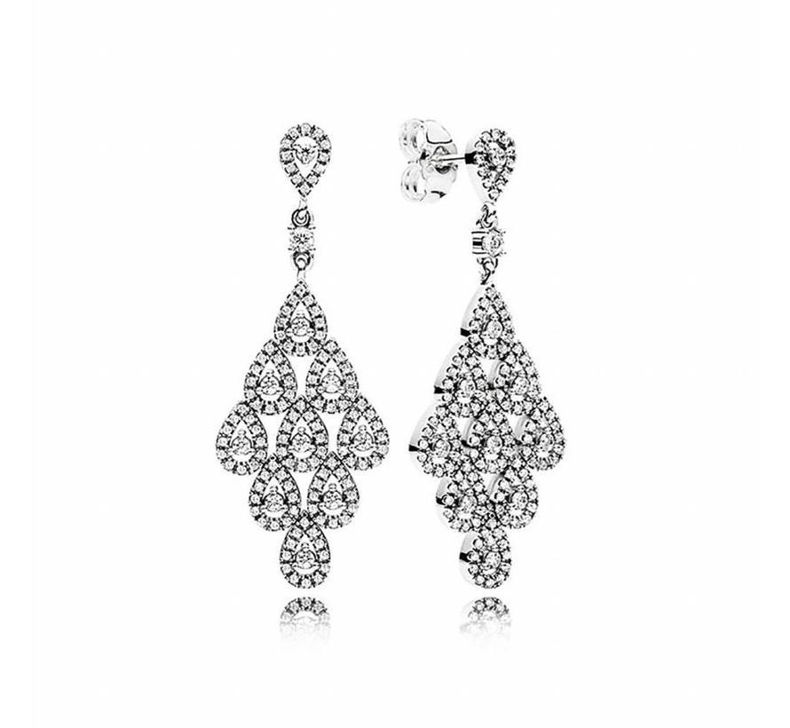 Cascading Glamour earrings 296201CZ