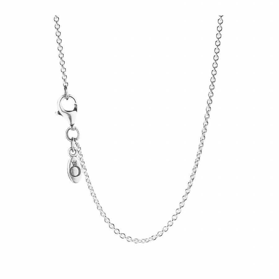 Silver necklace 590412 90cm