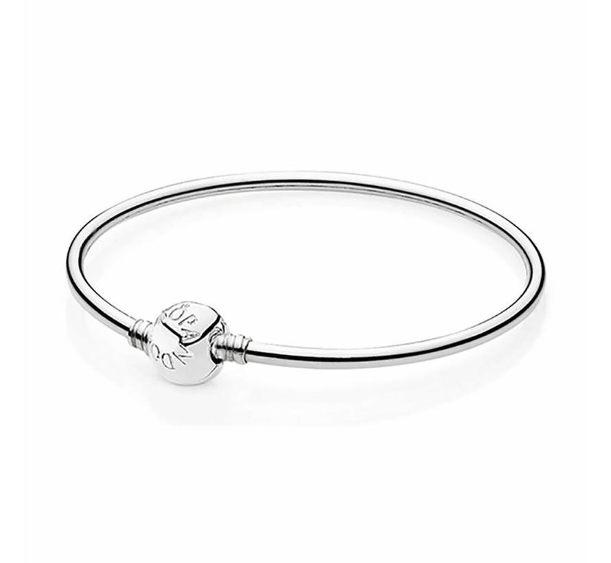 Silver bangle bracelet 590713