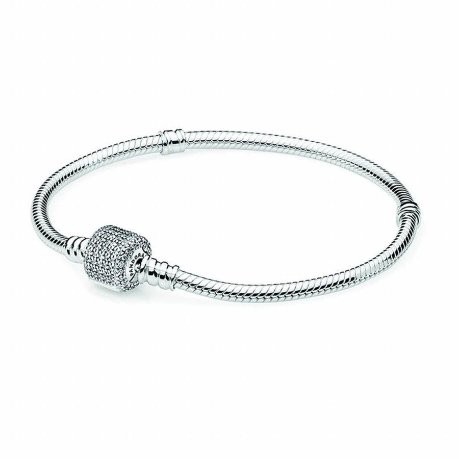 Silver bracelet 590723CZ