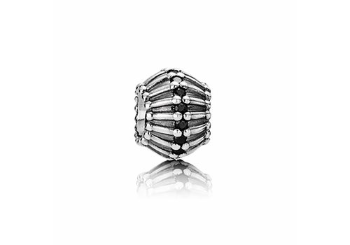Pandora Charm Show Stopper, Black Cubic Zirconia 790545CZK
