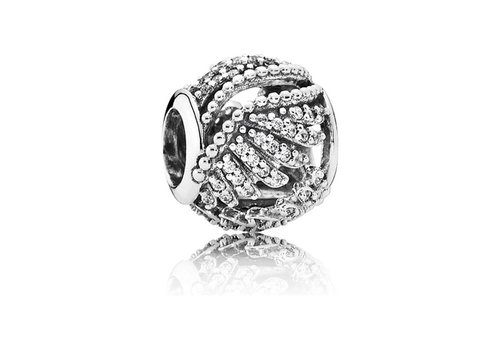 Pandora Phoenix feather openwork with clear cubic zirconia 791749CZ
