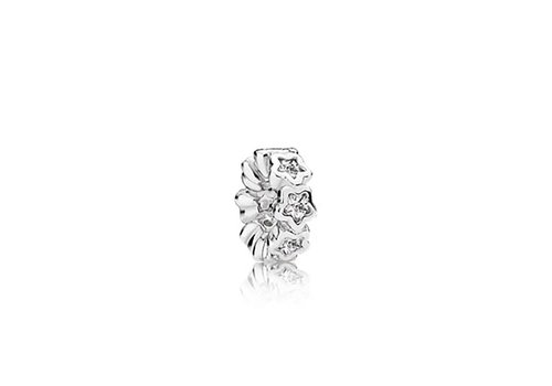 Pandora Star spacer with clear cubic zirconia 791783CZ