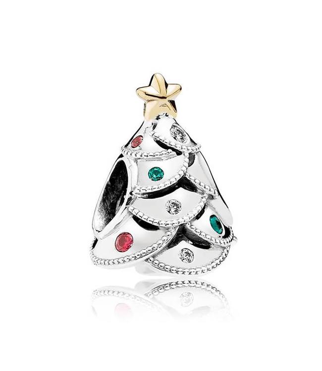 Pandora Christmas tree with 14k 791999CZRMX