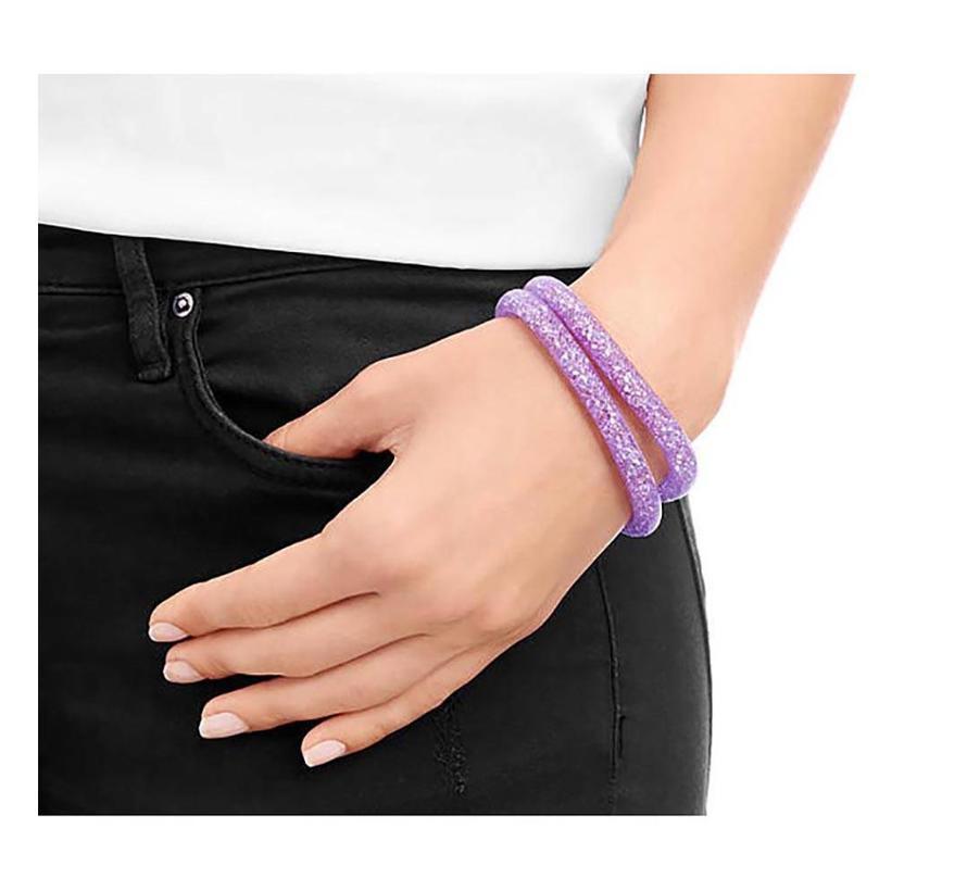 Stardust Violet Double Bracelet