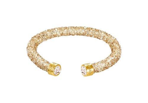 Swarovski Crystaldust Cuff Golden Crystals