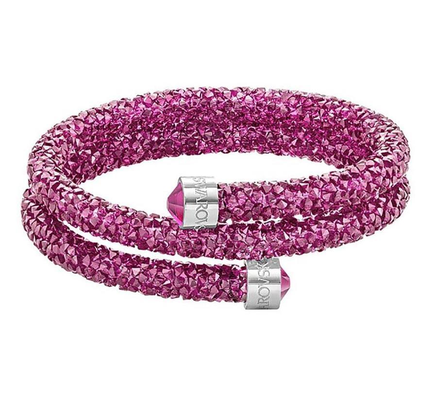 Crystaldust Double Bangle Pink