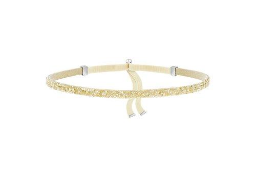 Swarovski Crystaldust Choker gold-tone 5279166