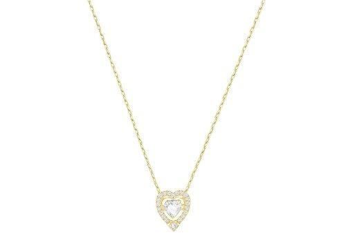 Swarovski Sparkling Dance Heart Necklace 5284190