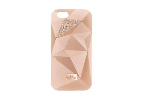 Swarovski Facets Smartphone Incase with bumper I Phone 7+ Pink