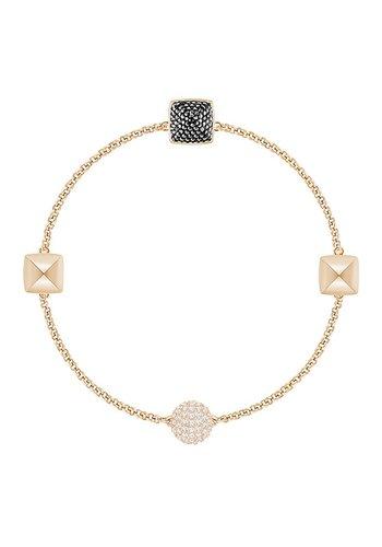 Swarovski Swa Remix Strand bracelet Spike Jet 5365753