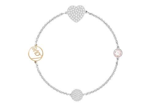 Swarovski Swa Remix Strand bracelet Heart 5365760