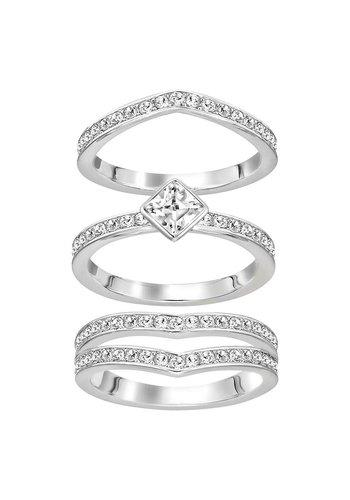Swarovski Alpha Ring Silver