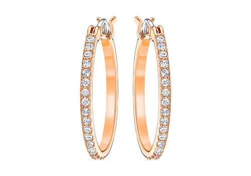 Swarovski Fine Pierced Hoop Earrings 5231657